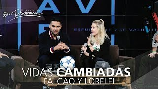 Falcao Y Lorelei - Vidas Cambiadas 56 | Testimonios Cristianos Impactantes