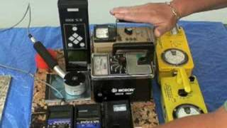 Geiger counters can't measure for radon in granite