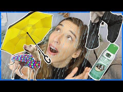 Testing Useful Rain Products