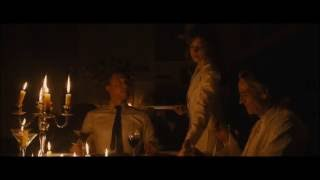 Tom Hiddleston in High-Rise. Dinner at Royal's place w/Charlotte