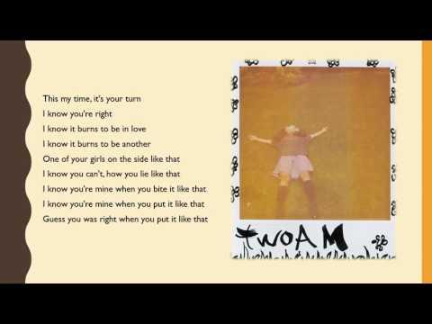 SZA twoAM Lyrics