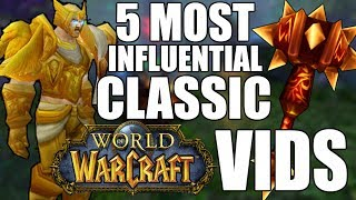 Top 5 Most Influential Classic WoW PVP Players