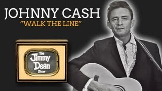 JOHNNY CASH - WALK THE LINE (LIVE ON THE JIMMY DEAN SHOW 1964)