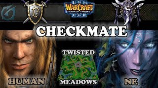 Grubby | Warcraft 3 The Frozen Throne | HU v NE - Checkmate! - Twisted Meadows