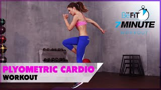 Plyometric Cardio Workout for Weight Loss: 7 Minute Workout Series
