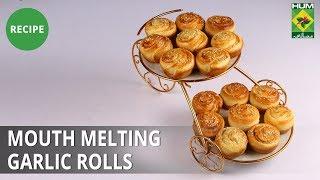 Mouth Melting Garlic Rolls | Evening With Shireen | Masala TV | Shireen Anwar