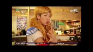 [ENG SUB] 방탄소년단 BTS Rap Monster, Suga & Jungkook dress up as girl 1/2