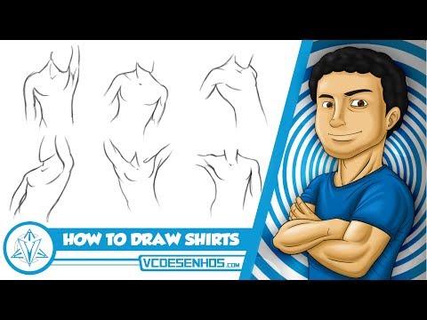 Como Desenhar Camisas Apostila VCdesenhos Patreon