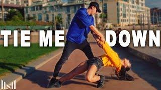 """TIE ME DOWN"" Smartphone Dance Challenge | Matt Steffanina & Trinity"