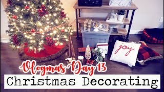 THE ULTIMATE CHRISTMAS DECORATING VLOG! || Vlogmas Day 13