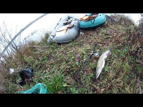 ловля щуки на мели в траве видео
