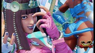 Juri as Menat Character Swap Mod [Street Fighter 5 Mod with Drexo]