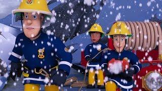 Sam el Bombero en Español 🌟 El equipo está encerrado en la nieve - 50 Minutos 🔥  Capítulos completos