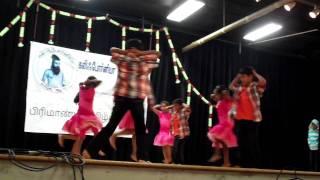 Rahul Ravi - Vinnai Kappan Oruvan - Basic II Tamil Annual Day Song May 2011