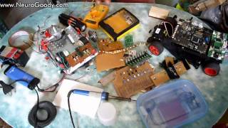 Build your own Basic Robot - Electronic components explained!
