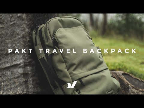 Absolute Killer Travel Backpack The Pakt Travel Backpack