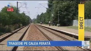 Stirile Kanal D (17.08.2017) - O femeie INSARCINATA si cei 3 copii AU MURIT pe calea ferata! COMPLET