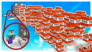THE ULTIMATE TNT CANNON! | Minecraft TNT WARS