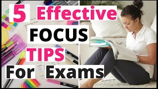 How To Concentrate On Studies For Exams | Best Ways To Focus On Studies In Hindi|Study Smart