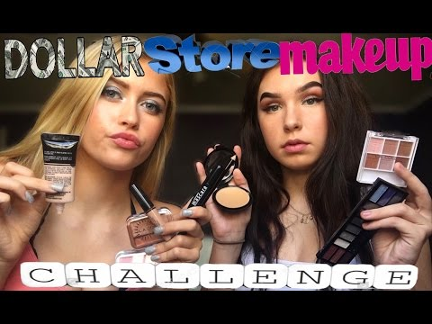 BEATING OUR FACE W DOLLAR STORE MAKEUP