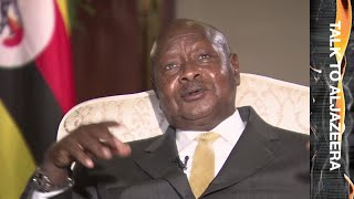 Yoweri Museveni: A five times-elected dictator?   Talk to Al Jazeera