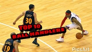 NBA Top 10 Ball Handlers Of All Time