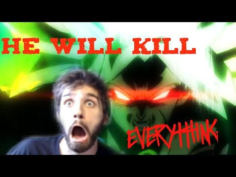 Dragonball Super: Movie Broly Comicon Trailer Live Reaction 2018