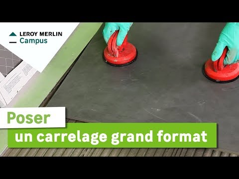 Comment poser du carrelage de sol leroy merlin vidoemo for Pose carrelage sol