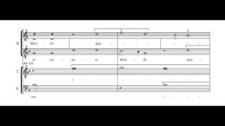 Nuper Rosarum Flores - G. Dufay (vocals)