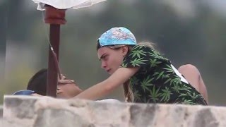 Cara Delevingne and Michelle Rodriguez's Romantic Day in Mexico