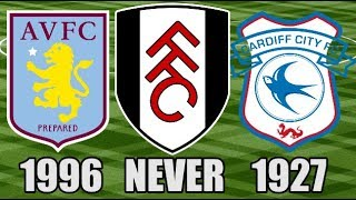 The Last Time EVERY Championship Club Won A Trophy (Part 1: Aston Villa - Ipswich Town)