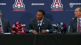 Arizona football introduces head coach Kevin Sumlin