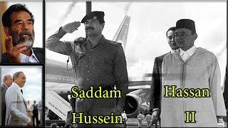 اقوى ما قال الحسن الثاني عن صدام حسين.. لن تصدق