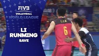 Brilliant save by Li Runming - World League 2017