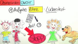 Être und avoir - Übungsvideo | Französisch | Grammatik