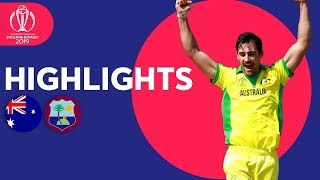 Starc Stars With 5-for! | Australia vs West Indies | ICC Cricket World Cup 2019 - Match Highlights