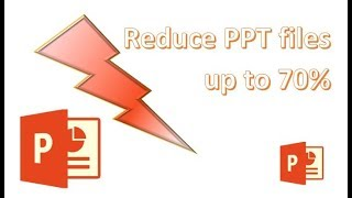 Optimize / Reduce your PowerPoint files with FILEminimizer