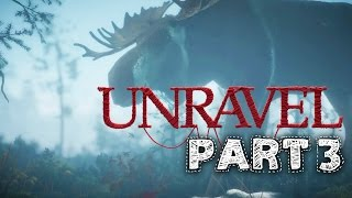 Unravel Gameplay Walkthrough Part 3 - BERRY MIRE (Chapter 3)