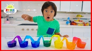 Walking Water Science Experiments for Kids!!!