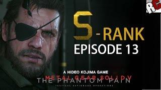 Metal Gear Solid 5: The Phantom Pain - Episode 13 S-RANK Walkthrough (Pitch Dark)