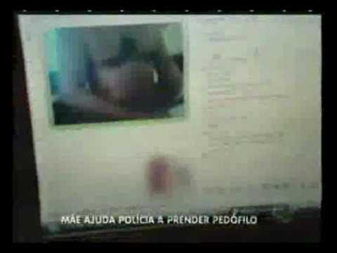 Mãe grava imagens de assédio e ajuda polícia a prender pedófilo.