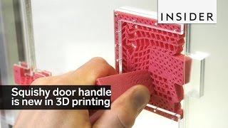 This squishy door handle is a breakthrough in 3D printing