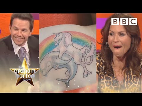 Mark Wahlberg & Minnie Driver on terrible tattoo fails 😂 The Graham Norton Show BBC