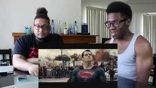 """Batman v Superman: Dawn of Justice"" Comic Con trailer REACTION!!!!"