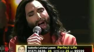 Conchita Wurst Satellite from Lena Meyer Landrut  ESC Vorentscheid   Unser Song 2017  ARD