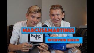 Marcus & Martinus Berlin Interview | Bubble Gum TV