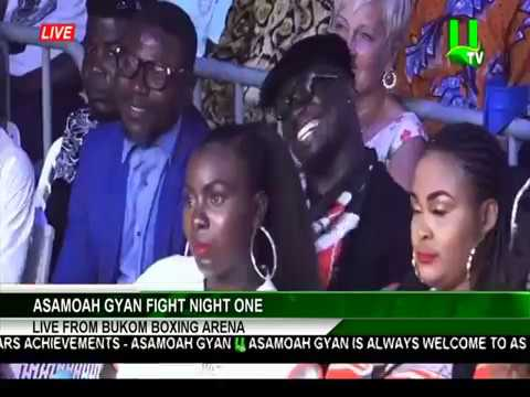 Azumah Nelson, Stephen Appiah, Samini, Joshua Clottey and others attend Asamoah Gyan Fight Night 1