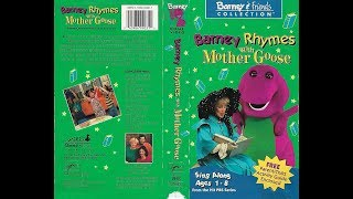 Barney Rhymes with Mother Goose [1992] (1993 VHS) full in HD