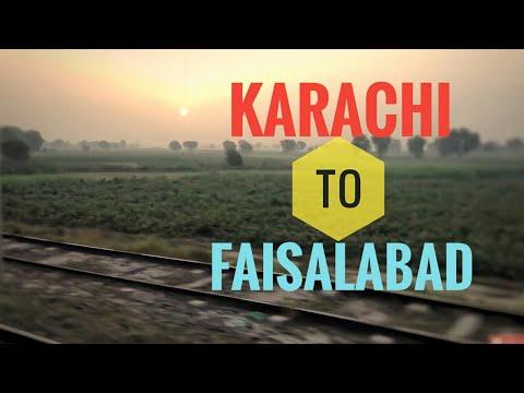Xxx Mp4 Karachi To Faisalabad Railway Journey On Karakorum Express Pakistan Railways Highlights 3gp Sex