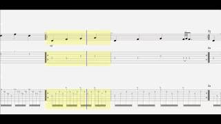 Guitar Tab - Assassins Creed - Ezio's Family - How to Play - Chords - Duet - Notes